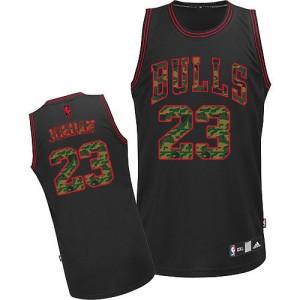 Maillot NBA Authentic Michael Jordan #23 Chicago Bulls Fashion Camo noir - Homme