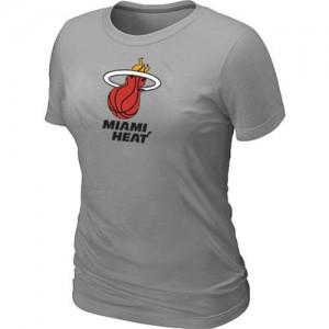 Miami Heat Big & Tall T-Shirt d'équipe de NBA - Gris pour Femme