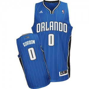 Maillot NBA Orlando Magic #0 Aaron Gordon Bleu royal Adidas Swingman Road - Homme