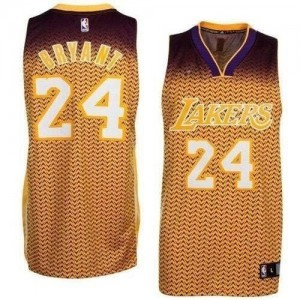 Maillot Authentic Los Angeles Lakers NBA Resonate Fashion Or - #24 Kobe Bryant - Homme