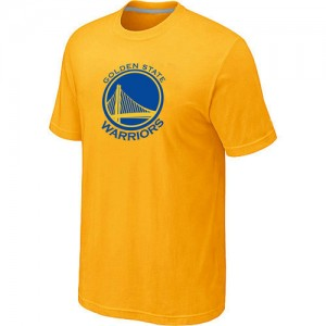 T-Shirt NBA Golden State Warriors Jaune Big & Tall - Homme