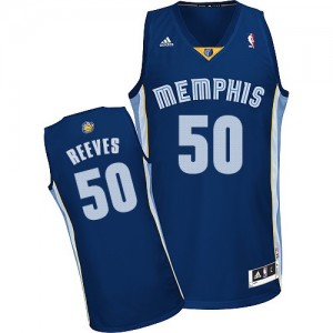 Maillot Swingman Memphis Grizzlies NBA Road Bleu marin - #50 Bryant Reeves - Homme