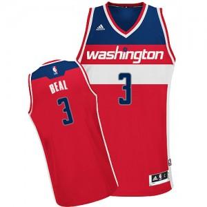 Maillot NBA Swingman Bradley Beal #3 Washington Wizards Road Rouge - Homme