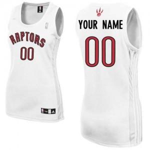 Maillot Toronto Raptors NBA Home Blanc - Personnalisé Authentic - Femme