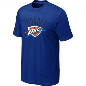 T-Shirt NBA Bleu Oklahoma City Thunder Big & Tall Homme