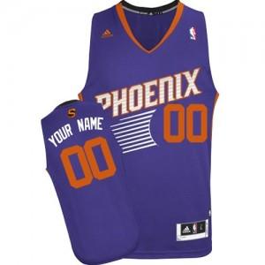 Maillot Phoenix Suns NBA Road Violet - Personnalisé Swingman - Femme
