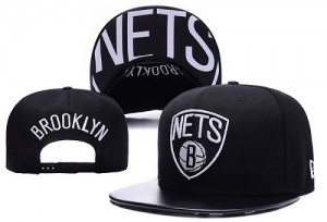 Brooklyn Nets Y4AM8EBQ Casquettes d'équipe de NBA