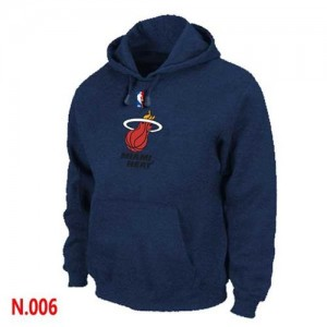 Sweat à capuche NBA Marine Miami Heat Homme