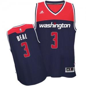 Maillot NBA Authentic Bradley Beal #3 Washington Wizards Alternate Bleu marin - Homme