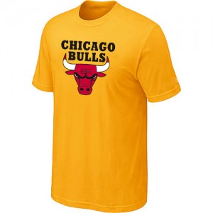 T-Shirt NBA Chicago Bulls Jaune Big & Tall - Homme