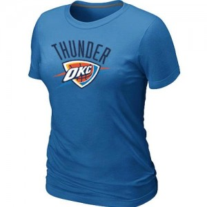 T-Shirt NBA Bleu clair Oklahoma City Thunder Big & Tall Femme