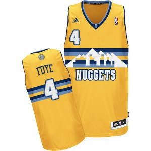 Maillot NBA Swingman Randy Foye #4 Denver Nuggets Alternate Or - Homme
