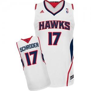 Maillot NBA Swingman Dennis Schroder #17 Atlanta Hawks Home Blanc - Homme