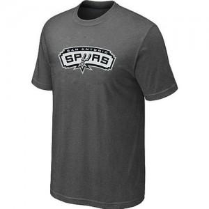 San Antonio Spurs Big & Tall T-Shirt d'équipe de NBA - Gris foncé pour Homme