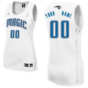 Orlando Magic Personnalisé Adidas Home Blanc Maillot d'équipe de NBA Discount - Swingman pour Femme
