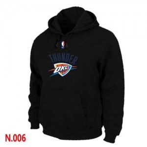 Sweat à capuche Noir Oklahoma City Thunder - Homme