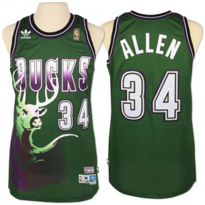 Milwaukee Bucks #34 Adidas New Throwback Vert Swingman Maillot d'équipe de NBA en vente en ligne - Giannis Antetokounmpo pour Homme