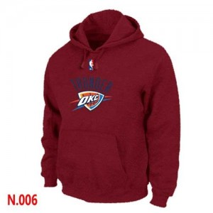 Sweat à capuche Rouge Oklahoma City Thunder - Homme