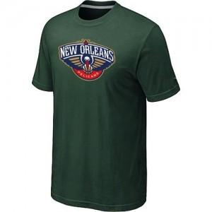 T-Shirt NBA New Orleans Pelicans Vert foncé Big & Tall - Homme