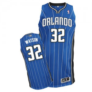 Maillot NBA Authentic C.J. Watson #32 Orlando Magic Road Bleu royal - Homme
