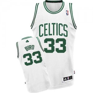 Maillot Swingman Boston Celtics NBA Home Blanc - #33 Larry Bird - Enfants