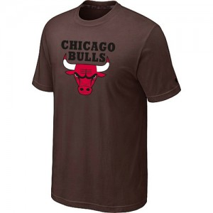 Chicago Bulls Big & Tall T-Shirt d'équipe de NBA - marron pour Homme