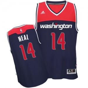 Washington Wizards Gary Neal #14 Alternate Swingman Maillot d'équipe de NBA - Bleu marin pour Homme