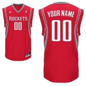 Maillot Houston Rockets NBA Road Rouge - Personnalisé Swingman - Homme