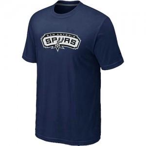 San Antonio Spurs Big & Tall Marine T-Shirt d'équipe de NBA Magasin d'usine - pour Homme