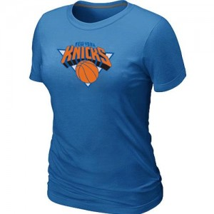 New York Knicks Big & Tall T-Shirt d'équipe de NBA - Bleu clair pour Femme