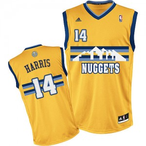Maillot Adidas Or Alternate Swingman Denver Nuggets - Gary Harris #14 - Homme