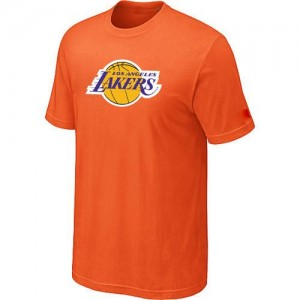 T-Shirt NBA Orange Los Angeles Lakers Big & Tall Homme