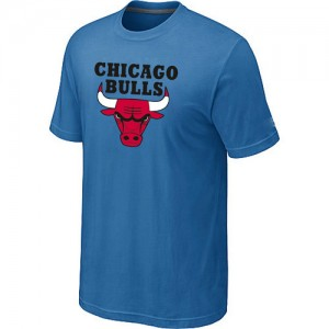 T-Shirt NBA Bleu clair Chicago Bulls Big & Tall Homme