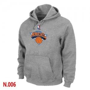 New York Knicks Gris Sweat à capuche d'équipe de NBA en vente en ligne - pour Homme
