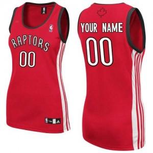 Toronto Raptors Personnalisé Adidas Road Rouge Maillot d'équipe de NBA Peu co?teux - Authentic pour Femme