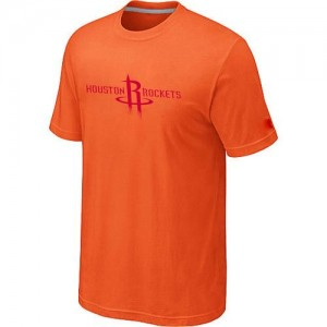 Houston Rockets Big & Tall T-Shirt d'équipe de NBA - Orange pour Homme