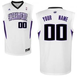 Maillot NBA Swingman Personnalisé Sacramento Kings Home Blanc - Homme