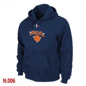 Pullover Sweat à capuche New York Knicks NBA Marine - Homme