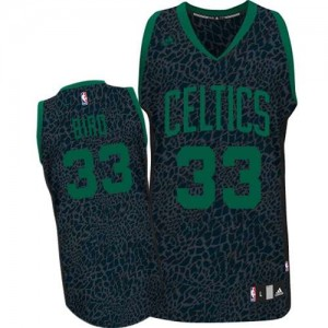 Maillot NBA Noir Larry Bird #33 Boston Celtics Crazy Light Swingman Homme Adidas