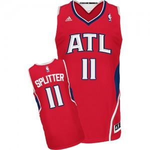 Maillot Adidas Rouge Alternate Swingman Atlanta Hawks - Tiago Splitter #11 - Homme