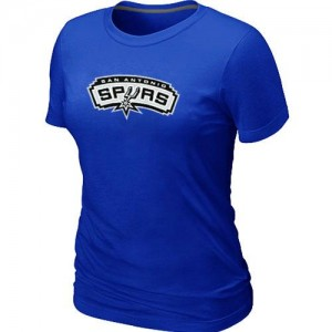 T-Shirt NBA San Antonio Spurs Big & Tall Bleu - Femme