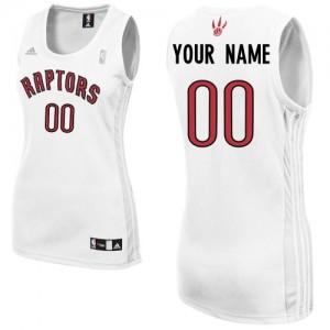 Maillot Toronto Raptors NBA Home Blanc - Personnalisé Swingman - Femme