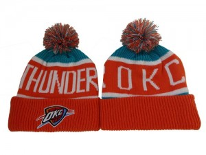 Bonnet Knit Oklahoma City Thunder NBA C2FWHEDM