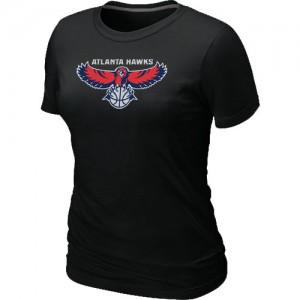 T-Shirt NBA Atlanta Hawks Noir Big & Tall - Femme