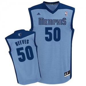 Maillot NBA Memphis Grizzlies #50 Bryant Reeves Bleu clair Adidas Swingman Alternate - Homme