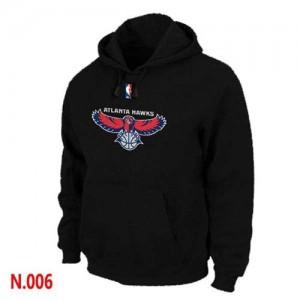 Sweat à capuche Noir Atlanta Hawks - Homme