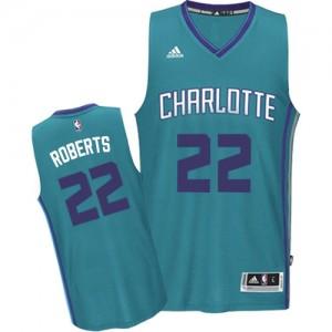 Charlotte Hornets Brian Roberts #22 Road Swingman Maillot d'équipe de NBA - Bleu clair pour Homme