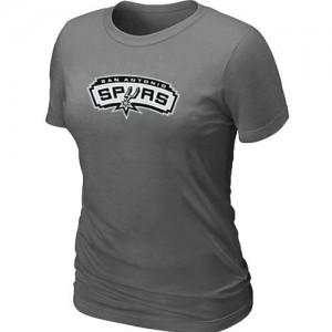 T-Shirt Gris foncé Big & Tall San Antonio Spurs - Femme