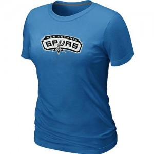 San Antonio Spurs Big & Tall T-Shirt d'équipe de NBA - Bleu clair pour Femme