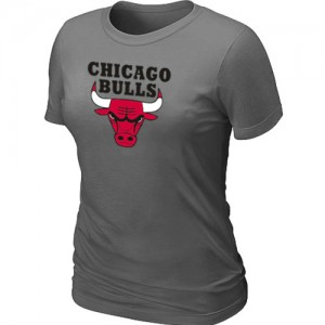 T-Shirt Gris foncé Big & Tall Chicago Bulls - Femme